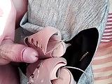 Cum pink heels my friend