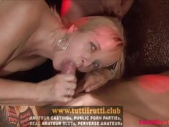 swinger gang-bang z Judy