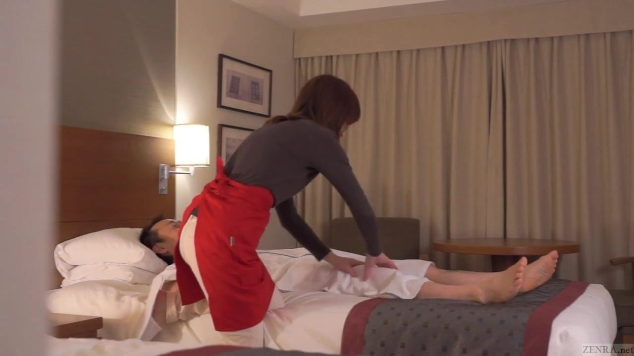Blonde Milf Gives Massage