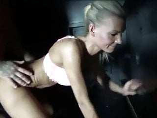 Blowjob Facial Cumshot video: Swingers Club Gloryhole
