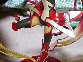 tail red bukkake