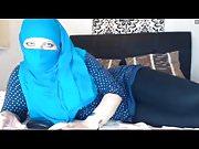 Hijab Wearing Girl See thru Leggings