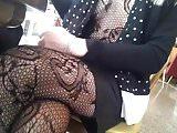 Al Bar...sotto il vestito, la tutina a rete