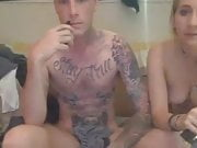 Horny Tattooed Couple gets Down Wild and Kinky