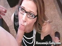 Secretary in Black Stockings gets Young Cock