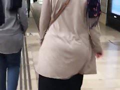 Arabischer Arsch Hijab Araber