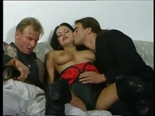 High Heels video: fucking two guys with her boots on