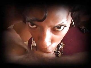 Pov Blowjob Big Tits video: Vanessa Sloppy Blow