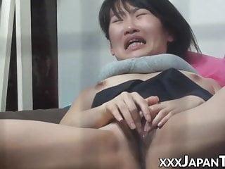 Fingering Teen Orgasm video: Japanese schoolgirl orgasms during hot masturbation