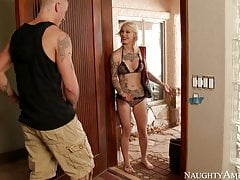 naughty america Kleio Valentien fucking in the outdoors
