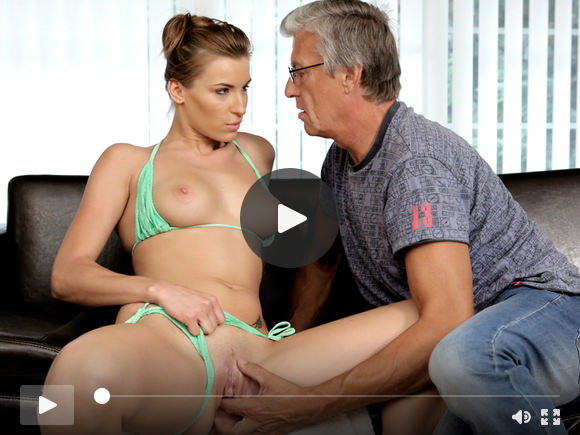 DADDY4K. Sex with her bf's father after swimming pool