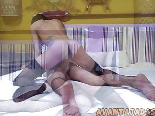Hd Videos Avantajadas Shemale xxx: Travesti magra comedora de cu