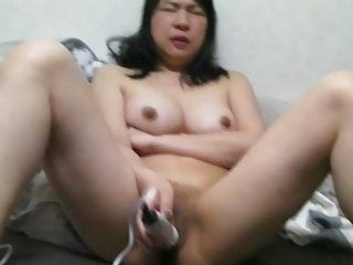 Asian Milf Pussy video: Asian MILF Masturbation