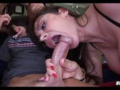 Nice Threesome con Slut MILF
