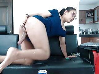 Latin Shemale Big Cock Shemale porno: sk4rl33thh CB 23092018
