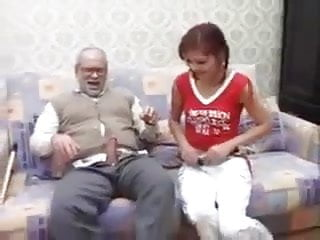 Small Tits Blowjob Brunette video: NMLN Granddad Enjoys His Afternoon At Home !