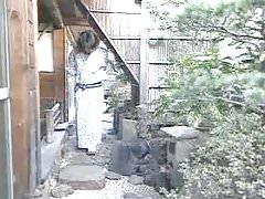 Japanische Kimonomädchen