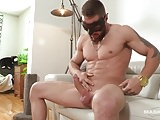 Maskurbate Straight French Canadian Boy Jerks Big Uncut Dick