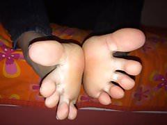 Machi porusza swoje seksowne stopy (rozmiar 38), część 4
