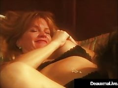 Sexy Cougar Deauxma StrapOn Fucks Milf Fan Off The Street!