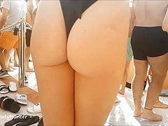 BhamBootyHunter: sexy culone britannico culo ballando alla festa