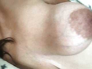 Gangbang Brunette Threesome video: Miss