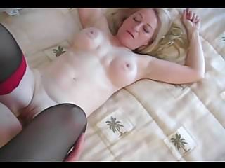 .50 year old blond does anal.
