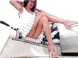 High Heels Mature Webcam video: Hot lady in sexy heels