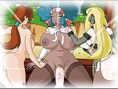 Pkmn chiennes (Delia, Lenora, Cynthia)