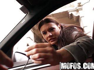 .Mofos - Stranded Teens - Kitana Lure - Back Seat Anal.
