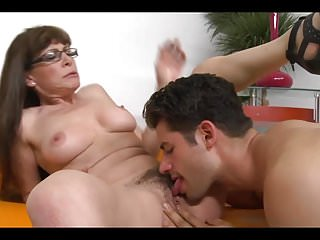 Matures Hairy Oldyoung video: Mature Wife Seduce Youngest Neighbor
