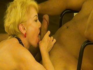 Blowjob Milf Mature video: White Woman Loves Licking Black Cock. Teasing BJ