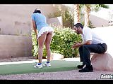Golfing with no Panties