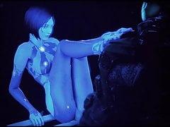 Cortana sucks a fucks! (Kompilace Halo Hentai)