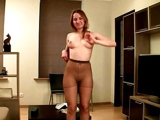 Teen Blowjob Compilation video: Lovely blondes and brunettes in tights