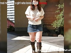 Japanese Plump Damsel Public Showing Slide Show3