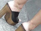 Candid high heels clogs