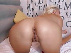 Sexy dospívající velké dildo Anal fucking & Fisting