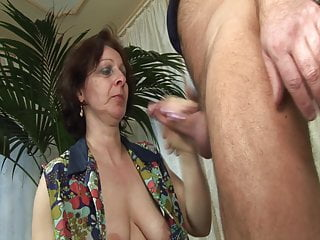 Stockings Granny Dildo video: Grandmas horny dream