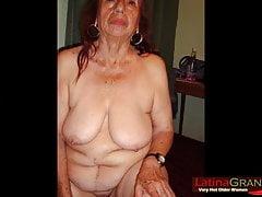 Enorme quantità di foto di nudo amatoriale di LatinaGrannY