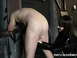 Smoking Hot Ballbusting - Cigarette Game with Miss Jessica
