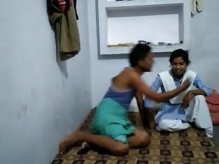 Indian Handjob Bondage video: Boob's dance