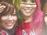 WWE Asuka Kairi Sane Io Shirai Cum Tribute