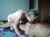 Amateur old couple 3