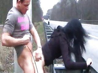 German Public Nudity Teen video: Shameless Brunette Teen Loves Public Sex with Stranger