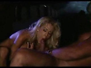 Blonde Blowjob Big Cock video: Wife fucks stud in limo while husband drives