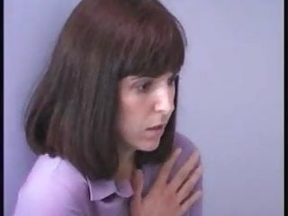Spanking Brunette Mature video: Classic Niki punished by a severe master in an emty room 001