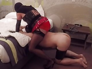 CD playing with sub male