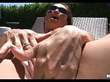 Slutty sunbathing Wife