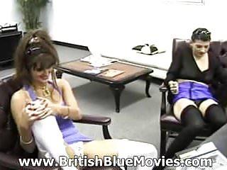 Hardcore Vintage video: Donna Warner and Hayler Russel - British Retro Casting